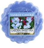 Yankee Candle Garden Sweet Pea cera para lámparas aromáticas 22 g