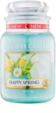 Yankee Candle Happy Spring vonná sviečka 623 g Classic veľká