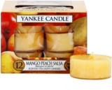 Yankee Candle Mango Peach Salsa čajová svíčka 12 x 9,8 g