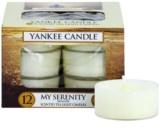 Yankee Candle My Serenity čajová svíčka 12 x 9,8 g