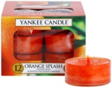 Yankee Candle Orange Splash Чаена свещ 12 x 9,8 гр.