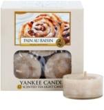 Yankee Candle Pain au Raisin čajová svíčka 12 x 9,8 g