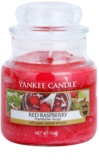 Yankee Candle Red Raspberry vela perfumado 104 g Classic pequeno
