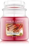 Yankee Candle Sparkling Cinnamon vonná svíčka 411 g Classic střední