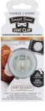 Yankee Candle Soft Blanket aроматизатор за автомобил 4 мл. канцеларски клип