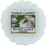 Yankee Candle Sea Salt & Sage Wachs für Aromalampen 22 g