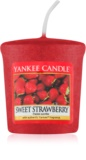 Yankee Candle Sweet Strawberry viaszos gyertya 49 g