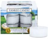 Yankee Candle Clean Cotton Teelicht 12 x 9,8 g
