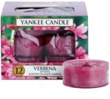 Yankee Candle Verbena čajová svíčka 12 x 9,8 g