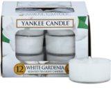 Yankee Candle White Gardenia čajová svíčka 12 x 9,8 g