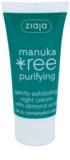 Ziaja Manuka Tree Purifying exfoliační noční krém proti akné