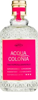 4711 Acqua Colonia Pink Pepper & Grapefruit eau de cologne unissexo 170 ml