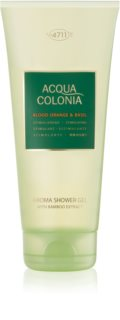 4711 Acqua Colonia Blood Orange & Basil gel de duche unissexo 200 ml
