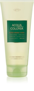 4711 Acqua Colonia Blood Orange & Basil gel de ducha unisex 200 ml
