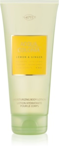4711 Acqua Colonia Lemon & Ginger leite corporal unissexo 200 ml