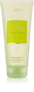 4711 Acqua Colonia Lime & Nutmeg gel de ducha unisex 200 ml