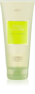 4711 Acqua Colonia Lime & Nutmeg Body Lotion unisex 200 ml
