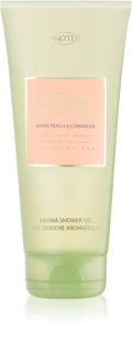 4711 Acqua Colonia White Peach & Coriander Shower Gel unisex 200 ml