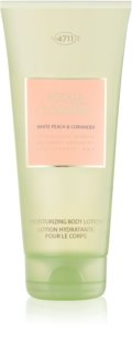 4711 Acqua Colonia White Peach & Coriander Body Lotion unisex 200 ml