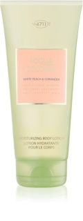 4711 Acqua Colonia White Peach & Coriander latte corpo unisex 200 ml