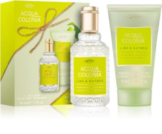 4711 Acqua Colonia Lime & Nutmeg coffret II.