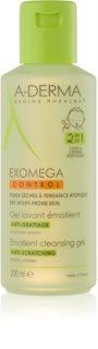 A-Derma Exomega zvláčňující mycí gel pro děti