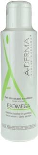 A-Derma Exomega овлажняващ гел-пяна за много суха чуствителна и атопична кожа
