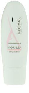A-Derma Hydralba creme hidratante para pele seca