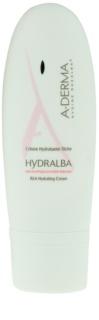 A-Derma Hydralba hidratáló krém száraz bőrre
