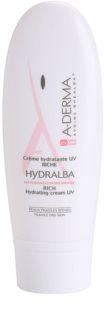 A-Derma Hydralba hydratační krém pro suchou pleť SPF 20