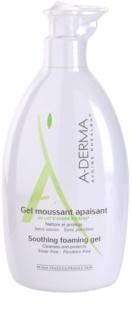A-Derma Original Care пінистий гель для чутливої шкіри