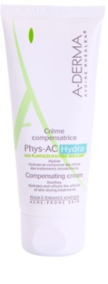 A-Derma Phys-AC Hydra Hydrating Cleansing Cream For Skin Irritated Or Dehydrated By Acne Treatments