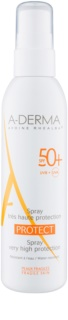 A-Derma Protect mleczko ochronne w sprayu SPF 50+