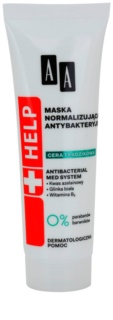 AA Cosmetics Help Acne Skin normalizačná antibakteriálna maska