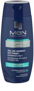 AA Cosmetics Men Advanced Care osvěžující gel na intimní hygienu