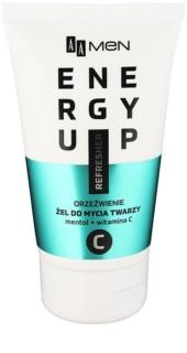 AA Cosmetics Men Energy Up osvěžující čisticí gel na obličej