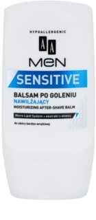 AA Cosmetics Men Sensitive bálsamo after shave hidratante