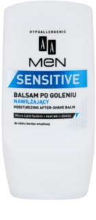 AA Cosmetics Men Sensitive nawilżający balsam po goleniu