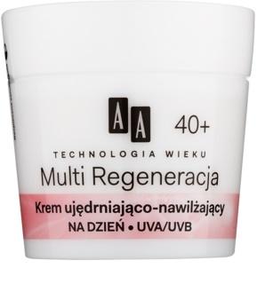 AA Cosmetics Age Technology Multi Regeneration feuchtigkeitsspendende und festigende Creme gegen Falten 40+
