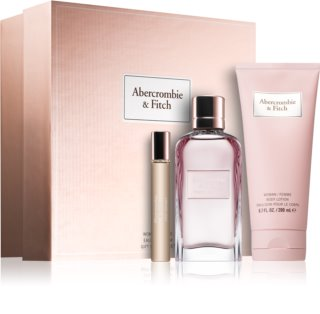 Abercrombie & Fitch First Instinct coffret III.