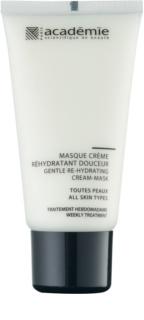 Academie All Skin Types ніжна кремова маска зі зволожуючим ефектом