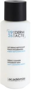 Academie Derm Acte Intolerant Skin ніжне очищаюче молочко для обличчя та очей