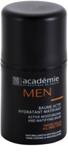 Academie Men aktywny balsam nawilżający z matowym wykończeniem