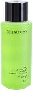 Academie Oily Skin gel limpiador desmaquillante