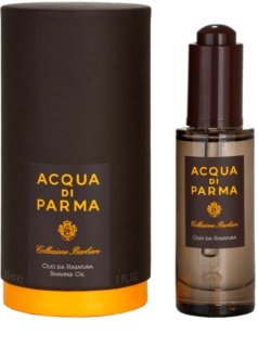 Acqua di Parma Collezione Barbiere huile de rasage pour homme 30 ml