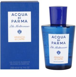 Acqua di Parma Blu Mediterraneo Arancia di Capri gel de duche unissexo 200 ml
