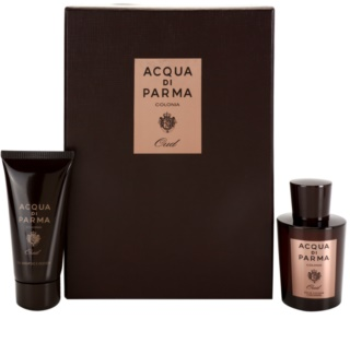 Acqua di Parma Colonia Oud подаръчен комплект I. EDC + SWG