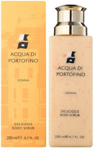 Acqua di Portofino Donna tělový peeling pro ženy 200 ml