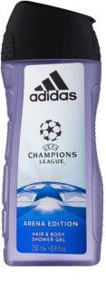Adidas UEFA Champions League Arena Edition Shower Gel for Men 250 ml