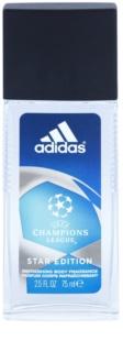 Adidas Champions League Star Edition spray dezodor férfiaknak 75 ml